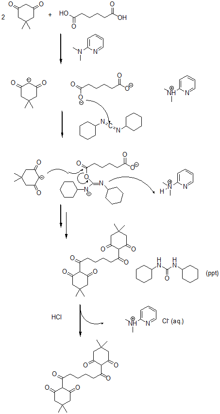 Figure 8. Reaction to form a bis-triketone.